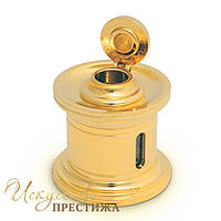 Чернильница El Casco 23 K Gold Plated Inkwell