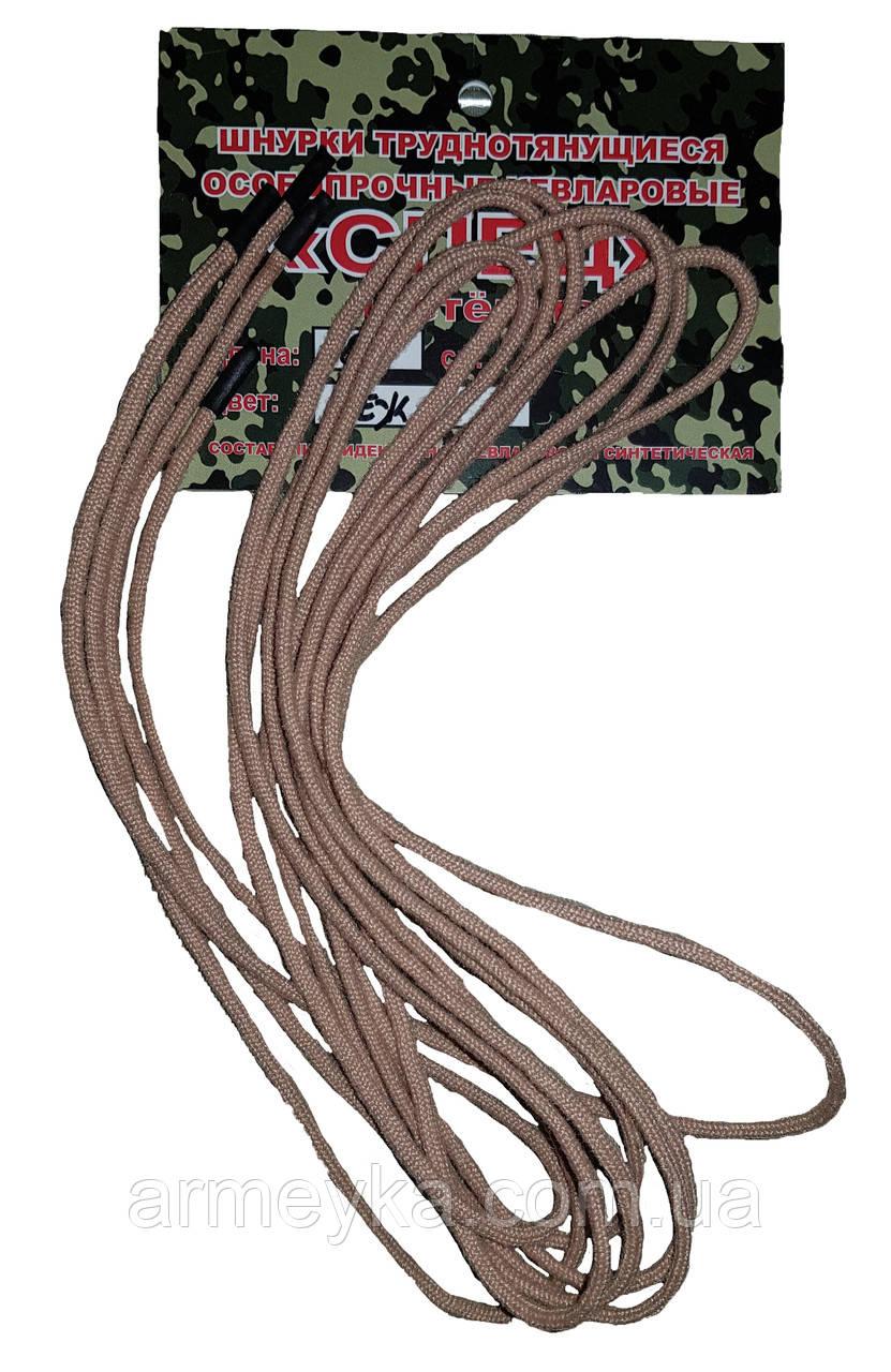 """Кевларовые шнурки """"тм Барс"""", бежевый. Оригинал, РФ."""