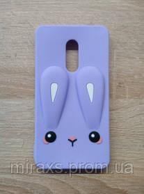 Плотный резиновый чехол для Xiaomi Redmi Note 4/ note 4x, фиолетовый