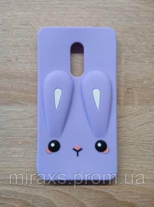 Плотный резиновый чехол для Xiaomi Redmi Note 4/ note 4x, фиолетовый, фото 2