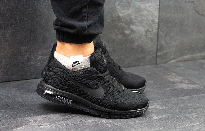 Мужские спортивные кроссовки Nike Flyknit Air Max