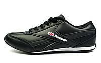 Черные кроссовки женские, подростковые REEBOK для повседневной носки