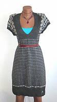 Теплое Платье с Узором от Jean Paul Размер: 44-S, M