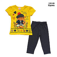 "Летний костюм ""Зайка"" для девочки. 2, 5 лет, фото 1"
