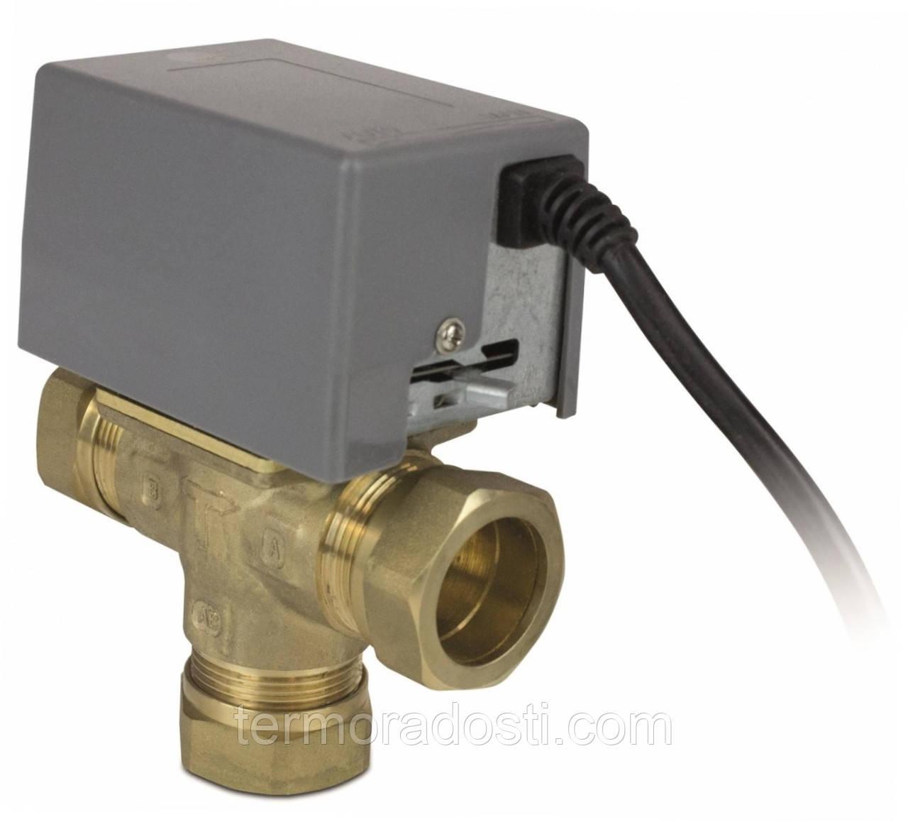 """Трехходовой клапан с электроприводом Salus PMV31 (1"""")"""