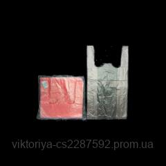 Пакети 24+12х44см 100шт усилені/рожеві/