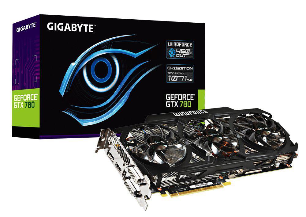 "Видеокарта Gigabyte GTX780 3072MB GDDR5 (384bit) ""Over-Stock"""