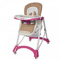 Детский стульчик для кормления CARRELLO Caramel CRL-9501/2 Crimson