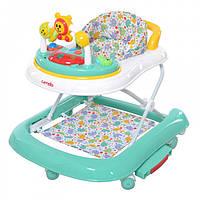 Детские ходунки-каталка CARRELLO 3 в 1 CRL-9602/1 Turquoise