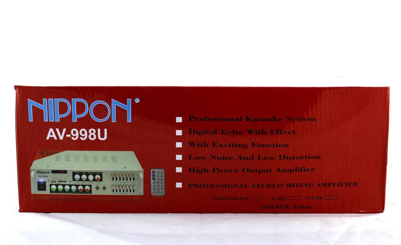 Усилитель AMP AV 998  8