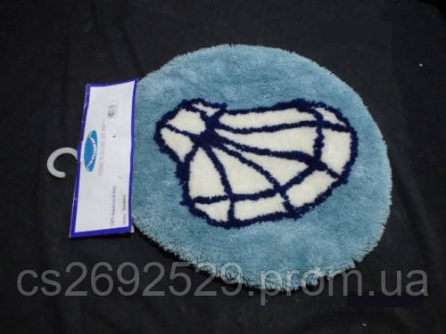 Ракушки коврик для крышки унитаза, фото 2