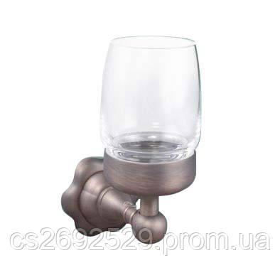 ANTIGUE brass стакан  с держателем, фото 2