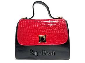 342478769b6c Сумка женская Bag-of-Dream TN14-49 (красно-черная/лаковая): заказ ...