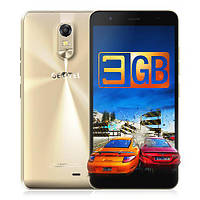 "Смартфон Geotel Note Gold, 3/16Gb, 4 ядра, 13/5 Мп, 5.5"" IPS, 2 SIM, 4G, 3200 мАч, фото 1"