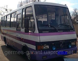 Кузовний ремонт автобусів Богдан Еталон ПАЗ I-VAN