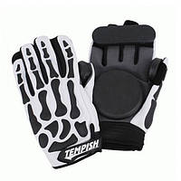 Спортивные перчатки для скейтбордистов, роллеров и велосипедистов со съемной защитой Tempish REAPER, Киев M