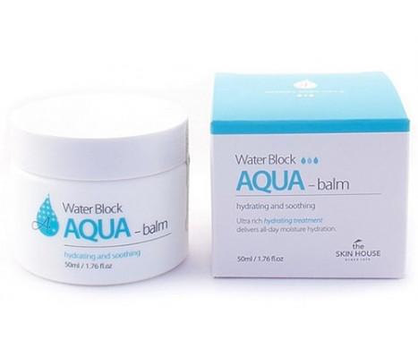 Увлажняющий аква-бальзам для лица The Skin House Water Block AQUA Balm, 50 мл