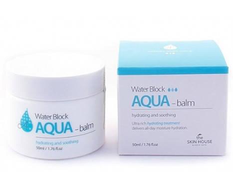 Увлажняющий аква-бальзам для лица The Skin House Water Block AQUA Balm, 50 мл, фото 2
