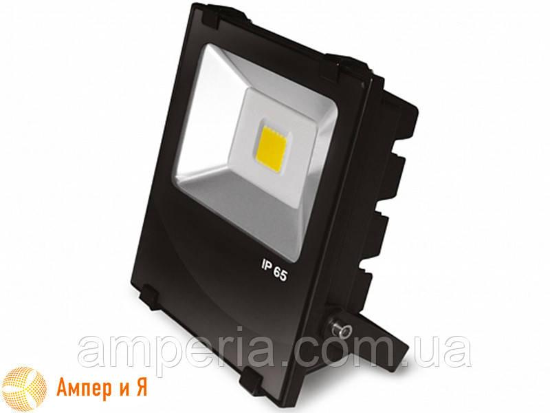 Прожектор светодиодный с радиатором EUROELECTRIC LED COB MODERN 30W 6500K