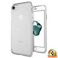 Чехол Spigen для iPhone 8 / 7 Liquid Crystal, Shine Clear, фото 1