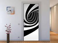Наклейка на дверь 3-д