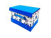 """Ящик ПВХ для хранения вещей """"Бантик"""", размер 25*20*17см, H12400"""