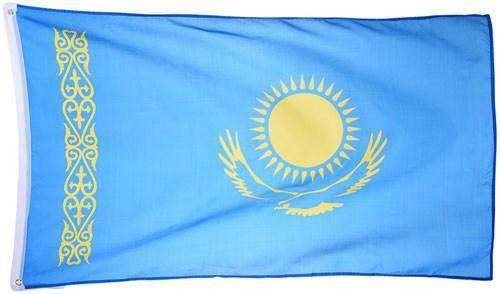 Флаг Казахстана 90х150см, фото 2