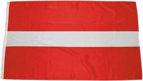 Флаг Латвии 90х150см MFH 35104B, фото 2