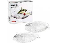 Набор блюд для сервировки рыбы Marine (6 шт) 260*210мм (М/А)