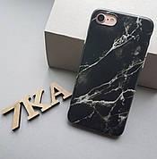 Мраморный чехол для Iphone 6 / 6s Black