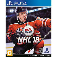 Игра Sony PS4 NHL 2018 российский версия (NHL 2018 (PS4))
