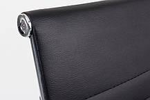 Офисный стул-кресло на колесиках черного цвета Classic black, Львов, фото 2