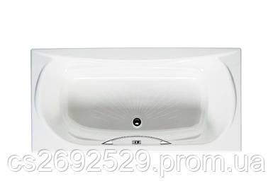 AKIRA ванна 170*85см с ручками, с подголовником, без ножек