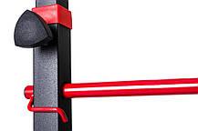 Силовой набор для жима скамья со штангой 55 кг и гантелями Strong для дома и спортзала, Львов, фото 3