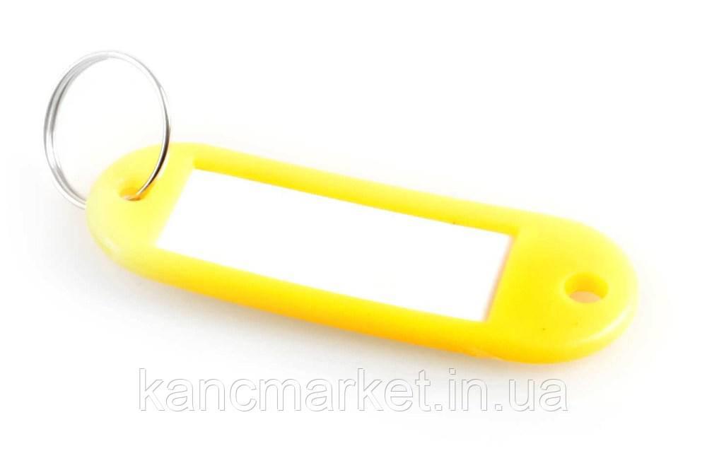 Брелок пластиковий для ключів 60*20