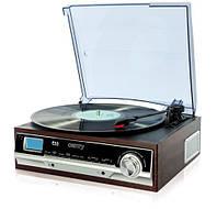 Проигрыватель виниловых пластинок с радио AM/FM + LCD CAMRY CR1113