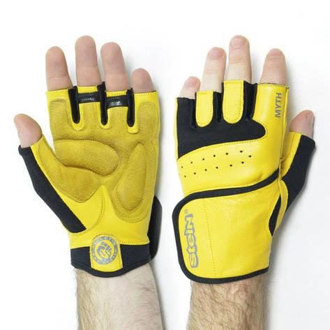 Тренировочные перчатки для фитнеса и бодибилдинга Stein Myth GPT-2229 для дома и спортзала, Киев M, фото 2