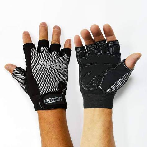 Тренировочные перчатки для фитнеса и бодибилдинга Stein Heath GPT-2244 для дома и спортзала, Киев M, фото 2