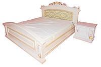 Кровать из натурального дерева Таурус