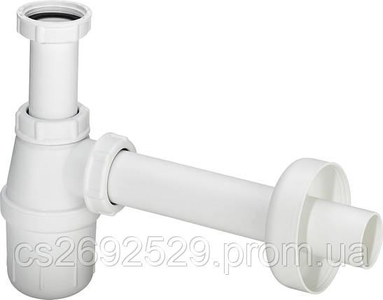 Полусифон для умывальника, пластик (108694), фото 2