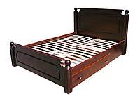 Кровать из натурального дерева Ольга, фото 1