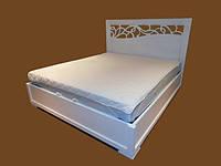 Кровать из натурального дерева Ажур, 1200*2000, фото 1