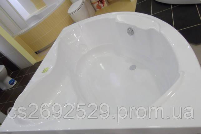 Ванна угловая без гидромассажа 1540*1540*690 мм (рама + ножки + лицевая панель), фото 2