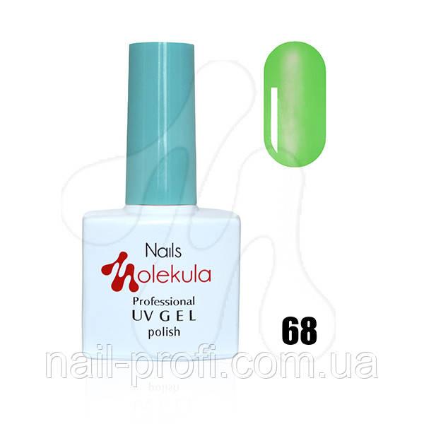 №68 витражный зеленый