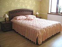 Кровать из натурального дерева Виктория 1, 1600х2000, фото 1