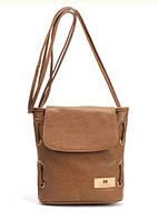 Кожаные женские сумки украина коричнево-рыжие