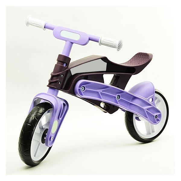 Беговел трансформер Real Baby KB7500 purple-brown, Киев