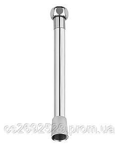 Шланг для душа полимер с металлическим эффектом 1,7 м, блистер