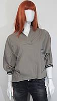 23 Д 181130 рубашка балахон короткая, беж.
