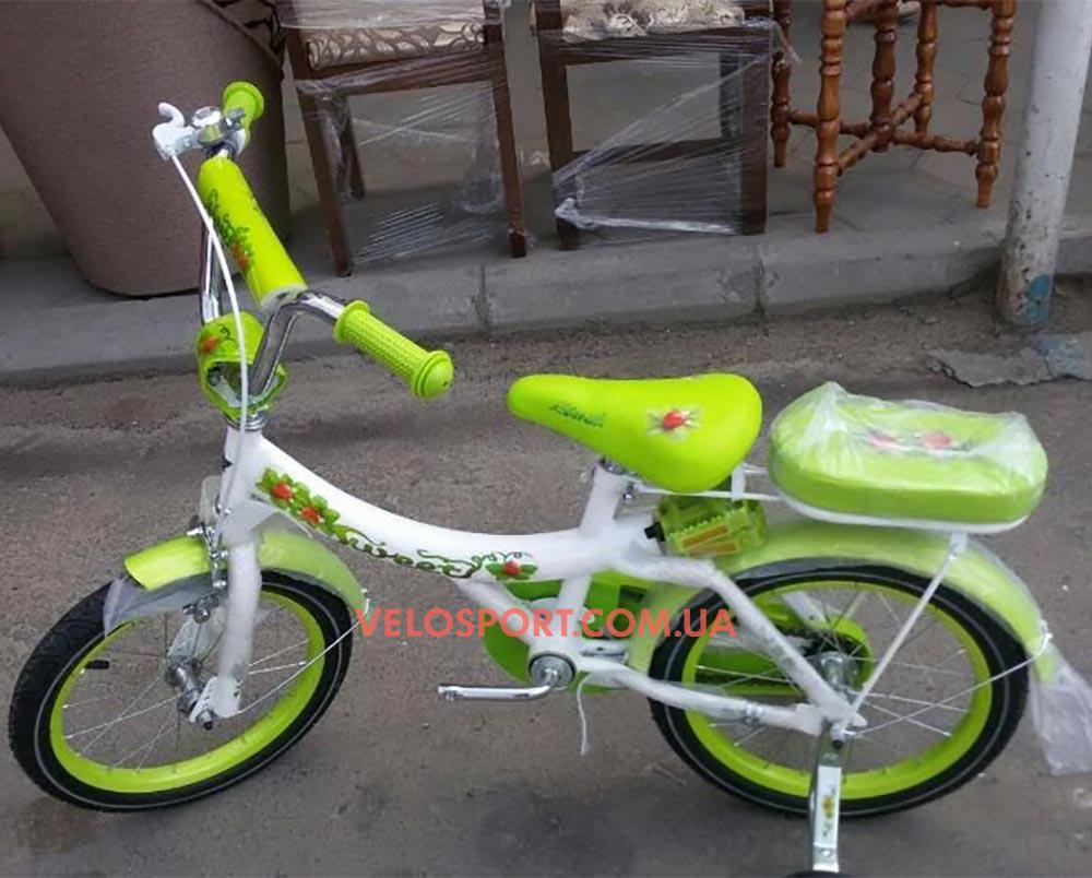 Детский велосипед Azimut Strawberry 16 дюймов